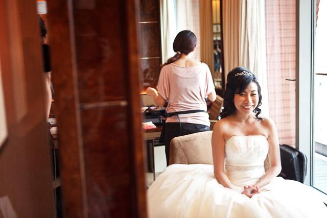Cyndi's Wedding Makeup by TheLittleBrush Singapore Makeup Artist