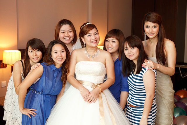 Irene's Wedding Makeup by TheLittleBrush Singapore Makeup Artist