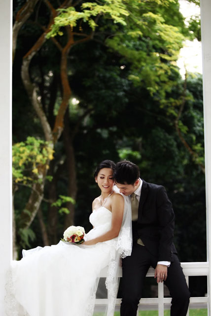 Jocelyn's Pre-Wedding Makeup by TheLittleBrush Singapore Makeup Artist