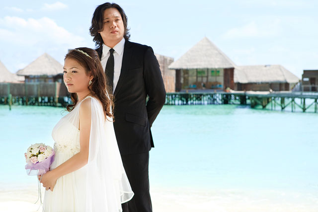 Irene's Pre-Wedding in Maldives Makeup by TheLittleBrush Singapore Makeup Artist