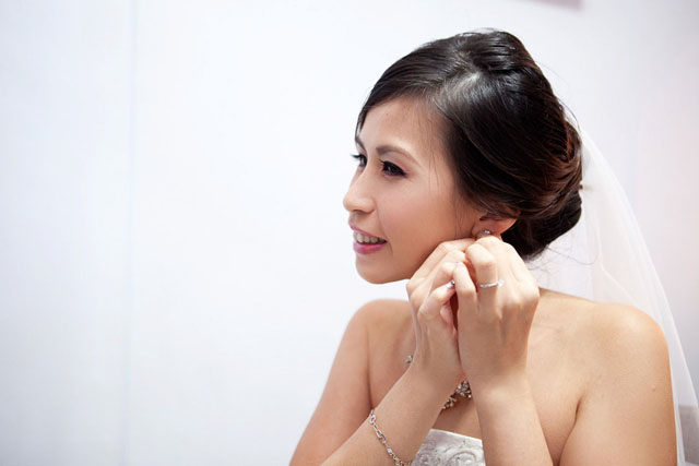 Li Wen's Wedding Makeup by TheLittleBrush Singapore Makeup Artist