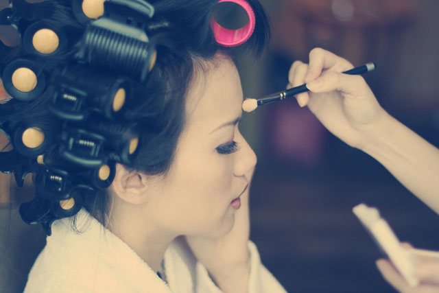 Lilian's Wedding Makeup by TheLittleBrush Singapore Makeup Artist