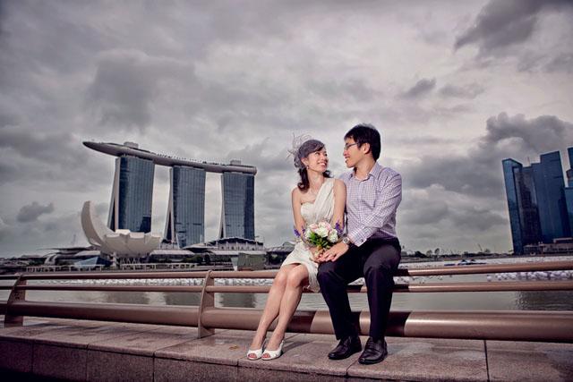 Mandy's Wedding Makeup by TheLittleBrush Singapore Makeup Artist