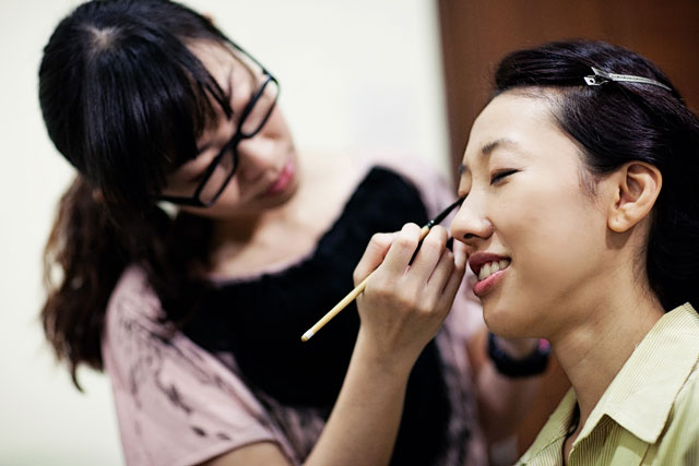 Hui Feng's Wedding Makeup by TheLittleBrush Singapore Makeup Artist