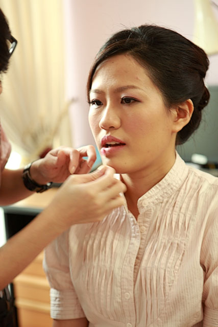 Qiao Mei's Wedding Makeup by TheLittleBrush Singapore Makeup Artist