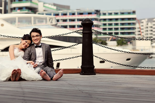 Qiao Mei's Pre-Wedding Makeup by TheLittleBrush Singapore Makeup Artist
