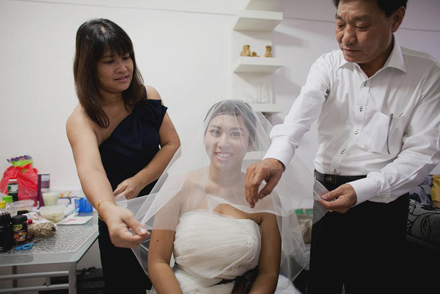 Christina's Wedding Day Makeup and Hair by TheLittleBrush Makeup Singapore