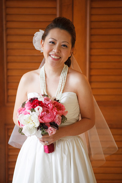 Celine's Wedding Day Makeup and Hair by TheLittleBrush Makeup Singapore