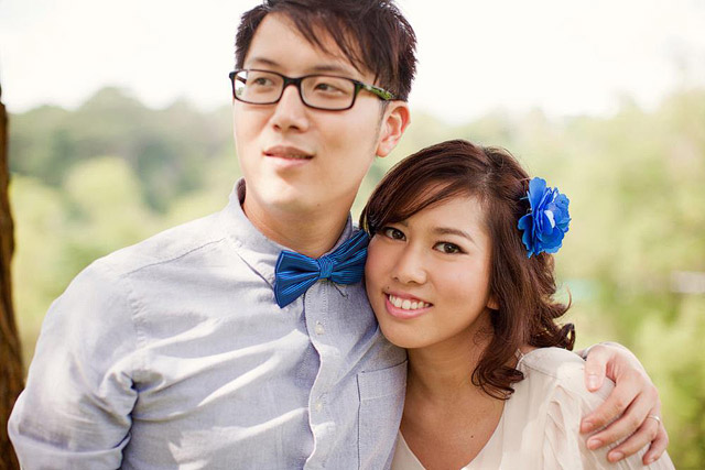 Christina's Pre-Wedding Day Makeup and Hair by TheLittleBrush Makeup Singapore