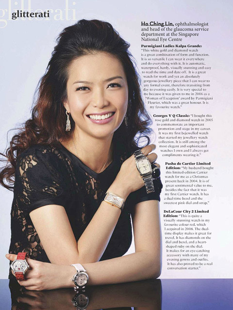 Singapore Tatler Jewels & Time - Ho Ching Ling's Makeup and Hair by Jovie Tan from TheLittleBrush Makeup