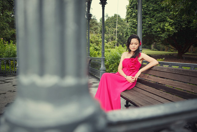 Agnes' Pre-Wedding Makeup and Hairstyling by Jovie Tan from TheLittleBrush Makeup