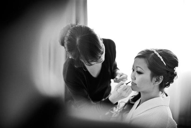 Sharon's Wedding Day Bridal Makeup and Hairstyling by Jovie Tan from TheLittleBrush Makeup
