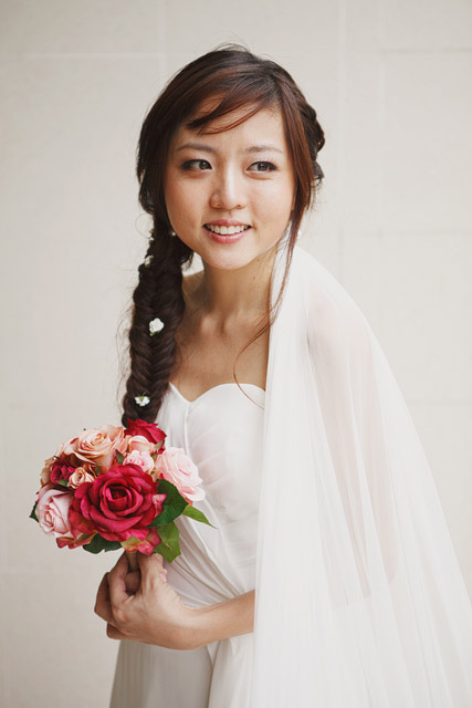 Yongsi's Wedding Makeup and Hairstyling by Jovie Tan from TheLittleBrush Makeup