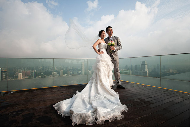Hwee San's Pre-Wedding Hair and Makeup by Jovie Tan from TheLittleBrush Makeup