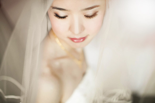 Song Yi's Wedding Day Hair and Makeup by Jovie Tan from TheLittleBrush Makeup