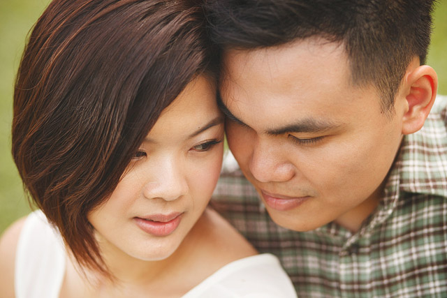 Audrey's Casual Pre-Wedding Jovie Tan from TheLittleBrush Makeup.