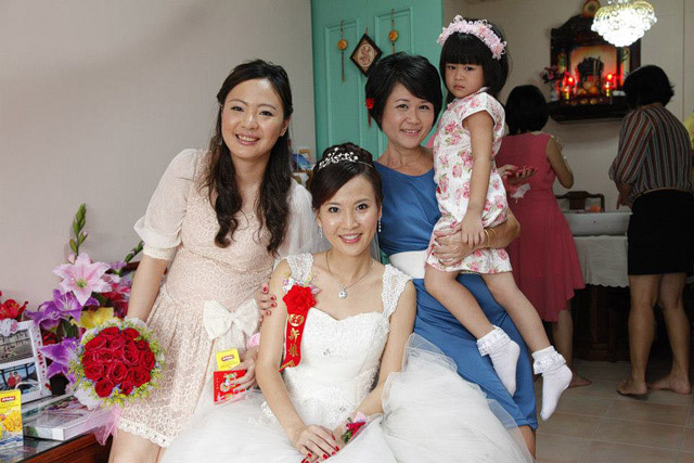 Christy's Wedding Day Hair and Makeup by Jovie Tan from TheLittleBrush Makeup