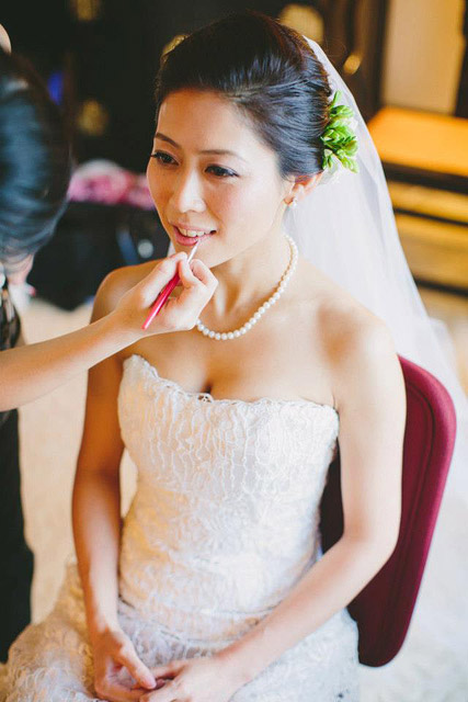 Donna's Wedding Day Hair and Makeup by Jovie Tan from TheLittleBrush Makeup
