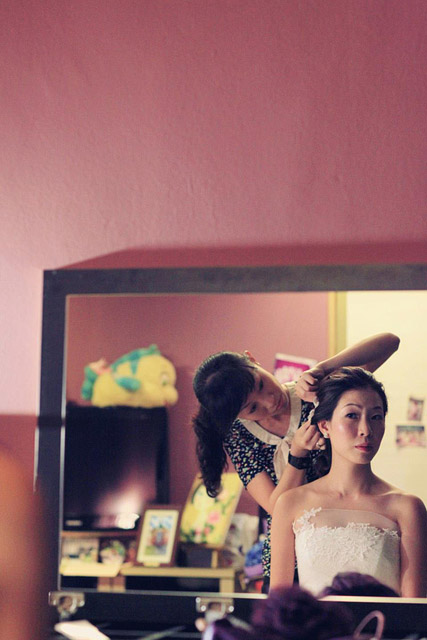 Zoie's Wedding Day Hair and Makeup by Jovie Tan from TheLittleBrush Makeup