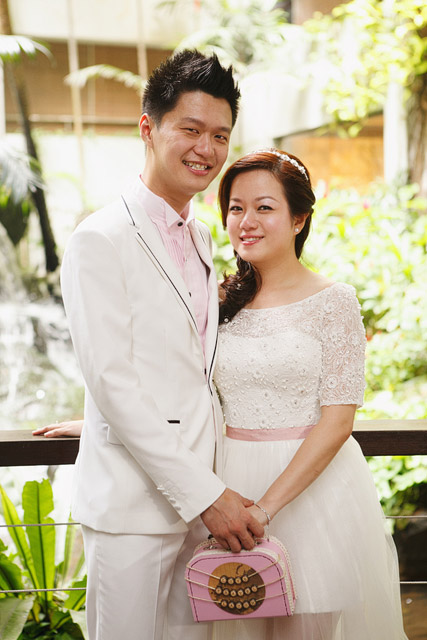 Felicia's Wedding Day Hair and Makeup by Jovie Tan from TheLittleBrush Makeup.