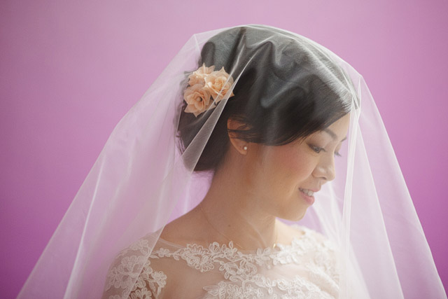Sharon's Wedding Day Hair and Makeup by Jovie Tan from TheLittleBrush Makeup.