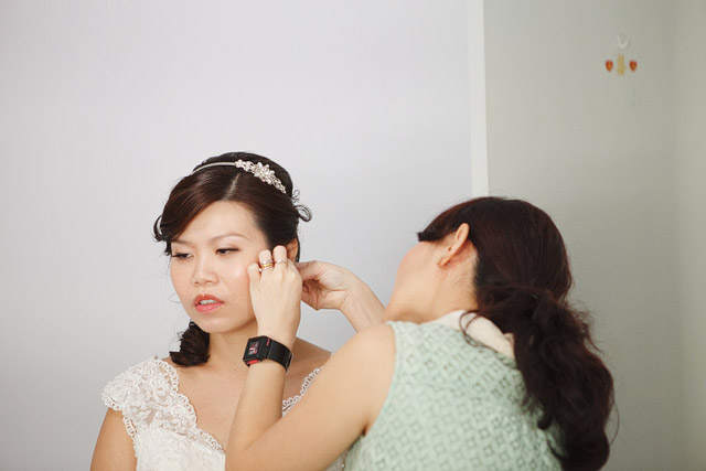 Irene's Wedding Day Hair and Makeup by Jovie Tan from TheLittleBrush Makeup.