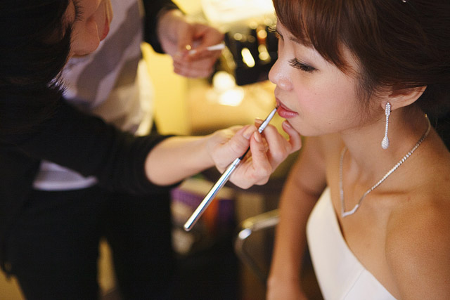 Midy's Wedding Day Hair and Makeup by Jovie Tan from TheLittleBrush Makeup.