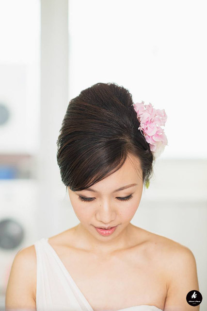Rita's Solemnization Hair and Makeup by Jovie Tan from TheLittleBrush Makeup.