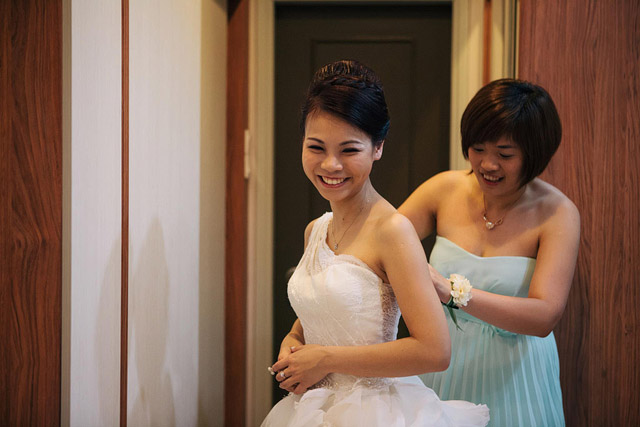 Seow Wei's Wedding Day Hair and Makeup by Jovie Tan from TheLittleBrush Makeup.