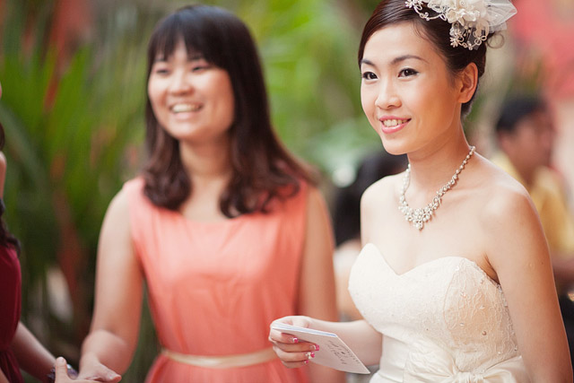 Yun Jia's Wedding Day Hair and Makeup by Jovie Tan from TheLittleBrush Makeup.