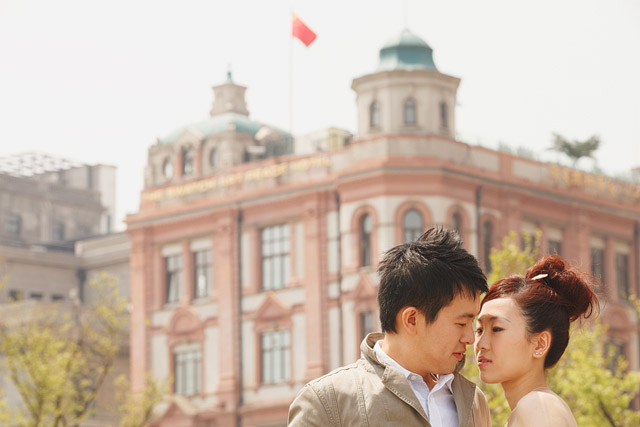 Yun Jia's Shanghai and Hangzhou Pre-Wedding Hair and Makeup by Jovie Tan from TheLittleBrush Makeup.