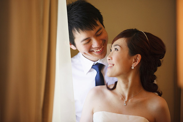 Yun Jia's Solemnization Hair and Makeup by Jovie Tan from TheLittleBrush Makeup.