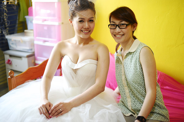 Audrey's Wedding Day Hair and Makeup by Jovie Tan from TheLittleBrush Makeup.
