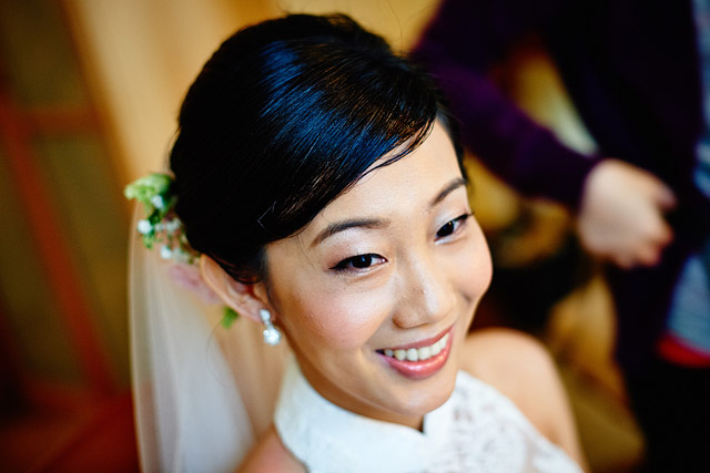 Yan Shan's Wedding Hair and Makeup by Jovie Tan from TheLittleBrush Makeup Singapore.
