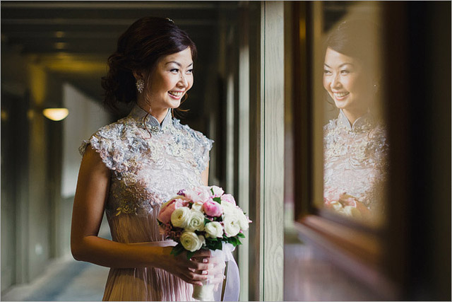 Madeline's ROM Hair and Makeup by Jovie Tan from TheLittleBrush Makeup Singapore.