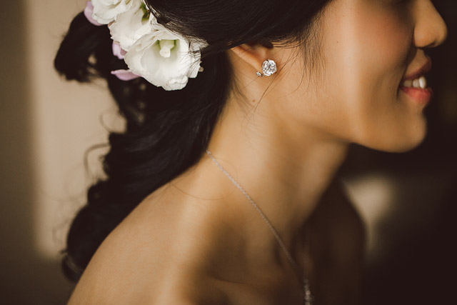 Glorijoy's Wedding Hair and Makeup by Jovie Tan from TheLittleBrush Makeup Singapore.