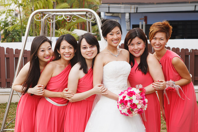 Jacqueline's Wedding Day Makeup and Hair by Jovie Tan from TheLittleBrush Makeup Singapore.