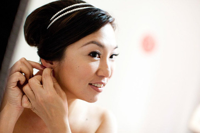 Ivy's Wedding Day Makeup and Hair ny Jovie Tan from TheLittleBrush Makeup Singapore