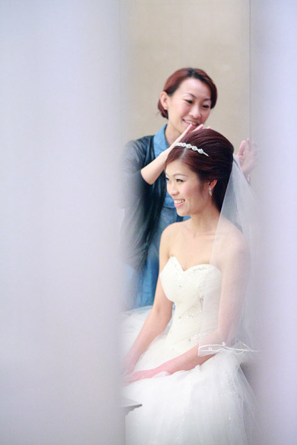 Michelle's Wedding Day Makeup and Hair by Jovie Tan from TheLittleBrush Makeup