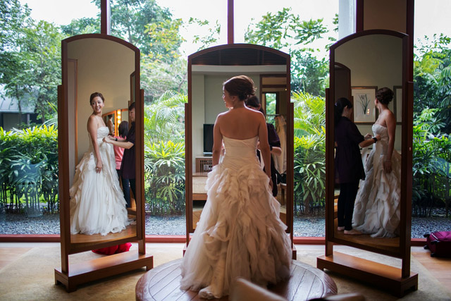 Yee Ling's wedding day makeup and hair by Jovie Tan from TheLittleBrush Makeup