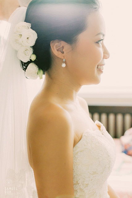 I-Lin's Wedding Day Makeup and Hair by Jovie Tan from TheLittleBrush Makeup Singapore