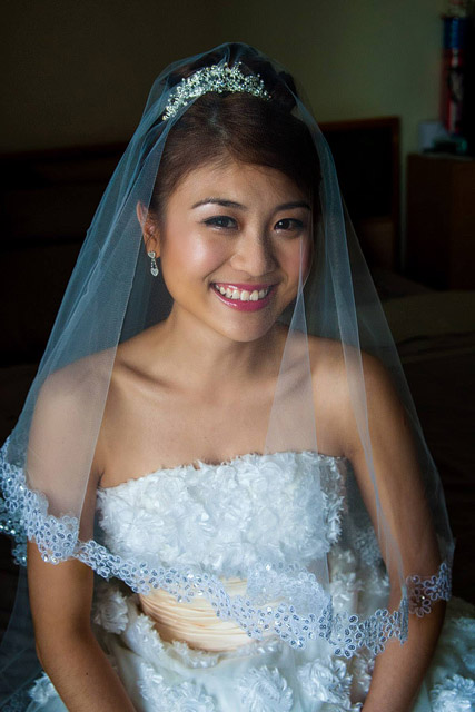Angela's Wedding Day Makeup and Hair by TheLittleBrush Makeup Singapore