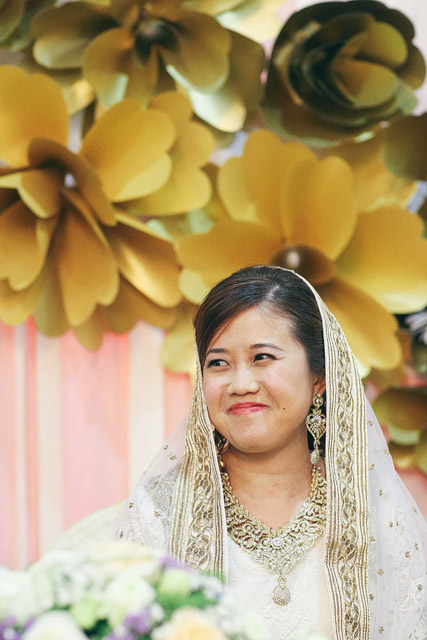 Christabelle's Wedding Day Makeup and Hair by TheLittleBrush Makeup Singapore