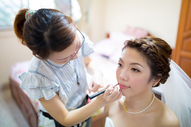 Ivy's Wedding Da Makeup and Hair by TheLittleBrush Makeup.